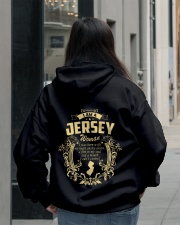 JerSey Girl Woman Tshirt- I cant Control - Hooded Sweatshirt lifestyle-unisex-hoodie-back-2