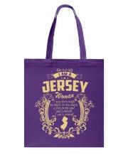 JerSey Girl Woman Tshirt- I cant Control - Tote Bag thumbnail