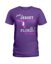 New Jersey -Florida - Just a shirt - Ladies T-Shirt thumbnail