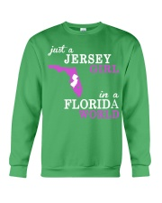 New Jersey -Florida - Just a shirt - Crewneck Sweatshirt thumbnail