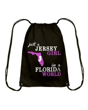 New Jersey -Florida - Just a shirt - Drawstring Bag thumbnail