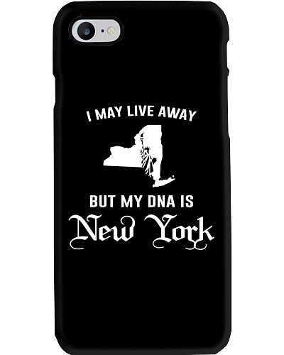 I may live away - My DNA is New York