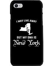 I may live away - My DNA is New York Phone Case thumbnail
