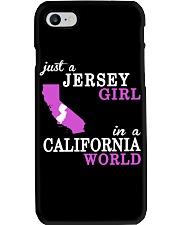 New Jersey -California- Just a shirt - Phone Case thumbnail