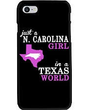 N Carolina - Texas - Just a shirt - Phone Case tile