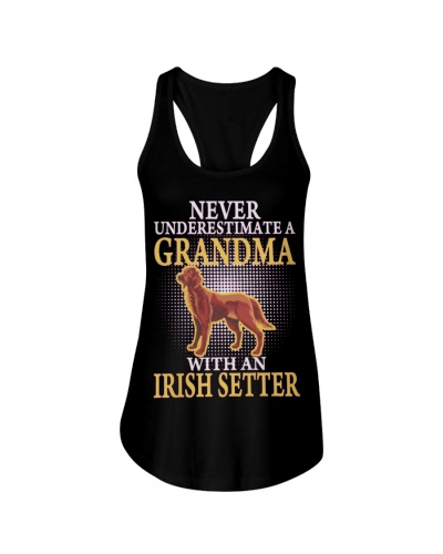 GRANDMA WITH AN IRISH SETTER SHIRTS