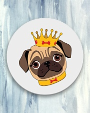 pug royal Circle Coaster aos-coaster-round-front-lifestyle-5