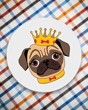 pug royal Circle Coaster aos-coaster-round-front-lifestyle-8