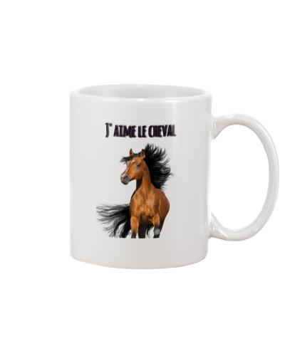 J'aime le cheval