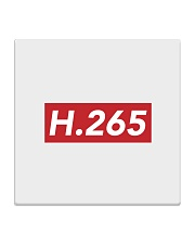 H265 Square Coaster front