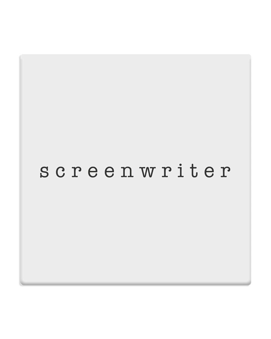Screenwriter Square Coaster