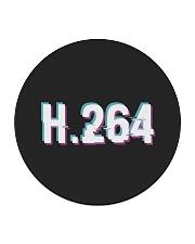 H264 Circle Coaster front