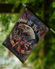 """Veteran American Eagle 11.5""""x17.5"""" Garden Flag aos-garden-flag-11-5-x-17-5-lifestyle-front-15"""