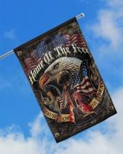 """Veteran American Eagle 11.5""""x17.5"""" Garden Flag aos-garden-flag-11-5-x-17-5-lifestyle-front-16"""