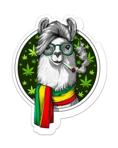 Get High Sticker 04