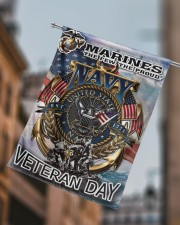 """Veteran Marines US Garden and House Flag 29.5""""x39.5"""" House Flag aos-house-flag-29-5-x-39-5-ghosted-lifestyle-15"""