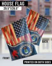 """United State Air Force 29.5""""x39.5"""" House Flag aos-house-flag-29-5-x-39-5-ghosted-lifestyle-05"""