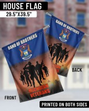 """Band Of Brothers 29.5""""x39.5"""" House Flag aos-house-flag-29-5-x-39-5-ghosted-lifestyle-05"""