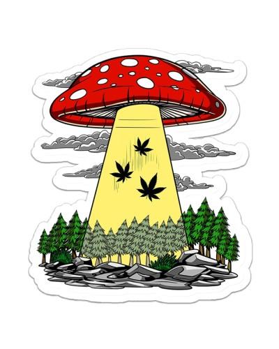 Get High Sticker 08