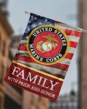 "Marine Family 29.5""x39.5"" House Flag aos-house-flag-29-5-x-39-5-ghosted-lifestyle-15"