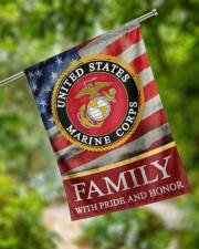 "Marine Family 29.5""x39.5"" House Flag aos-house-flag-29-5-x-39-5-ghosted-lifestyle-17"