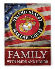 "Marine Family 29.5""x39.5"" House Flag front"