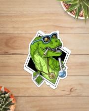 T-rex High Sticker  Sticker - Single (Vertical) aos-sticker-single-vertical-lifestyle-front-07