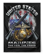 "Veteran Marines 29.5""x39.5"" House Flag front"