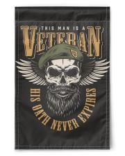 "Veteran Flag 11.5""x17.5"" Garden Flag front"