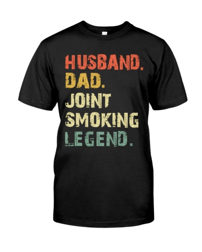 Husband Dad Joint Smoking Legend