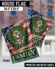 "Army Family 29.5""x39.5"" House Flag aos-house-flag-29-5-x-39-5-ghosted-lifestyle-05"
