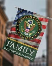 "Army Family 29.5""x39.5"" House Flag aos-house-flag-29-5-x-39-5-ghosted-lifestyle-15"