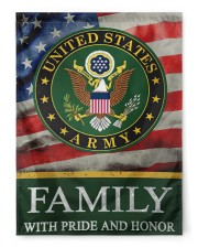"""Army Family 29.5""""x39.5"""" House Flag front"""
