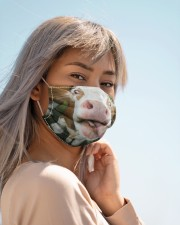 Funny cow  Cloth face mask aos-face-mask-lifestyle-19