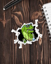 T-rex High  Sticker - Single (Vertical) aos-sticker-single-vertical-lifestyle-front-05