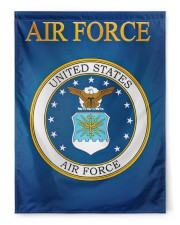 """US Armed Forces 29.5""""x39.5"""" House Flag front"""