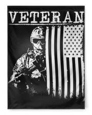 """Veteran Soilder Usa  29.5""""x39.5"""" House Flag front"""