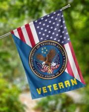 "Veteran US Flag 29.5""x39.5"" House Flag aos-house-flag-29-5-x-39-5-ghosted-lifestyle-17"