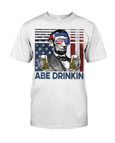 Beer Abe Drinkin