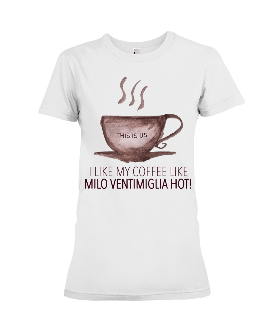 Milo Ventimiglia - Front Premium Fit Ladies Tee