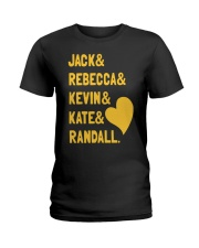 Jack Rebecca Kevin Kate Randall - Front Ladies T-Shirt tile