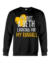 Beth Looking For Randall - Front Crewneck Sweatshirt thumbnail