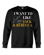 I Want To Love - Front Crewneck Sweatshirt thumbnail