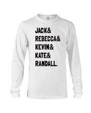 Jack and Rebecca - Front Long Sleeve Tee thumbnail