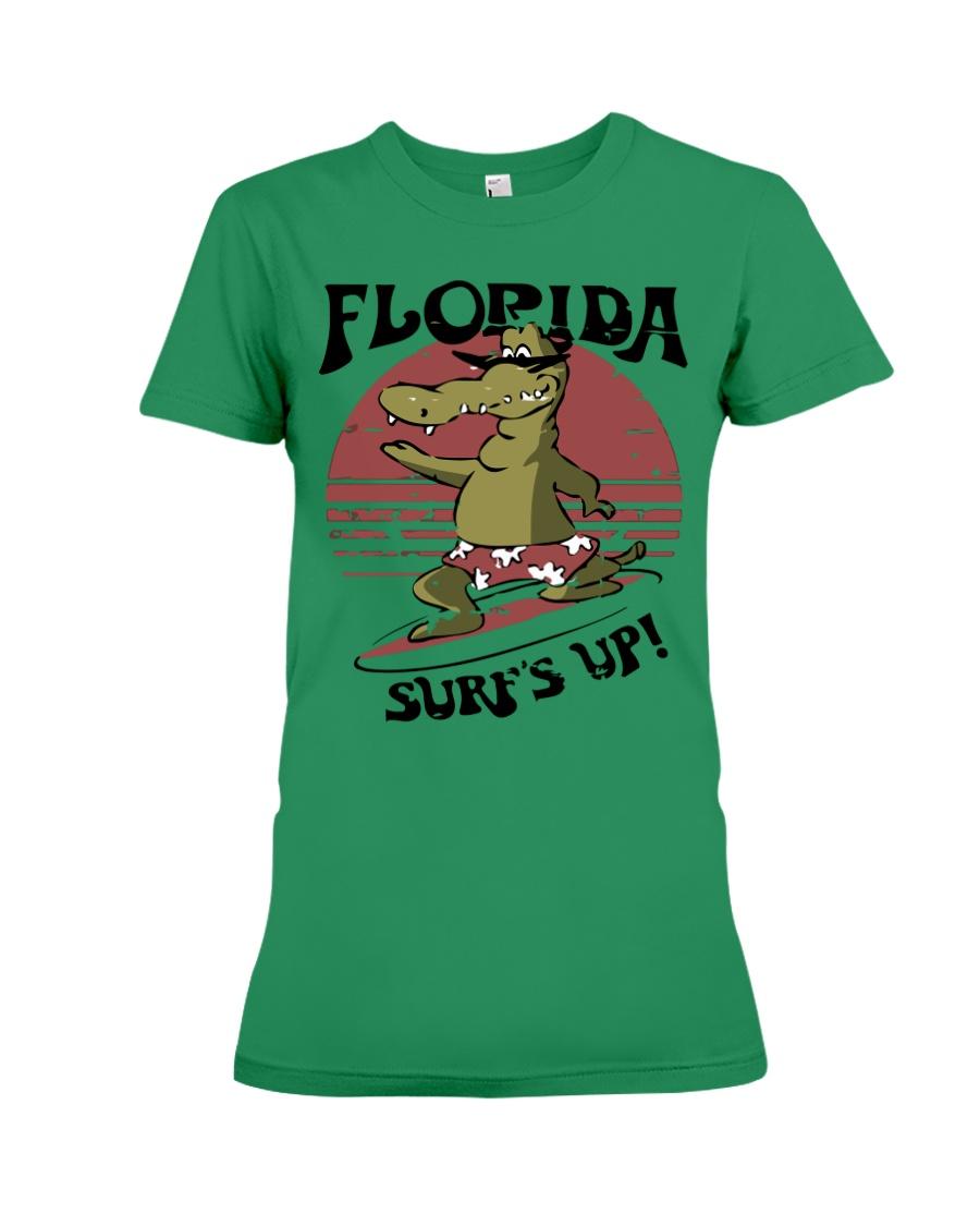 Florida - Front Premium Fit Ladies Tee