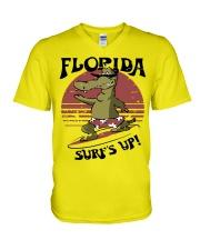 Florida - Front V-Neck T-Shirt thumbnail