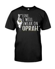 Oprah - Front Classic T-Shirt thumbnail