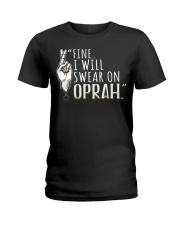 Oprah - Front Ladies T-Shirt thumbnail
