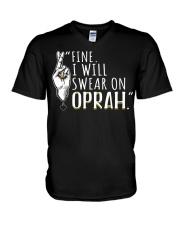 Oprah - Front V-Neck T-Shirt thumbnail
