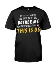 No One Better Bother Me - Front Classic T-Shirt thumbnail